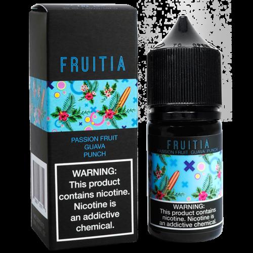 Fruitia Salt 30мл (Passionfruit Guava Punch)