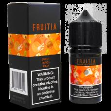 Fruitia Salt 30мл (Sweet Peach Soda)