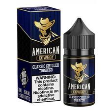 American Cowboy Salt 30мл (Classic Chilled Tobacco)
