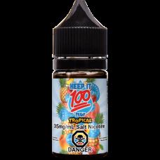 Keep It 100 Salt 30мл (Blue Slushy Tropical)