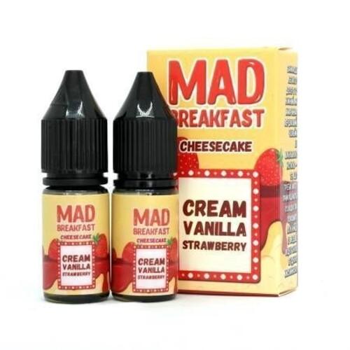Mad Breakfast Salt 10мл (Strawberry Cheesecake)
