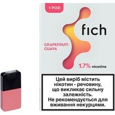 Картриджи Fich (Grapefruit-Guava) 1.7%