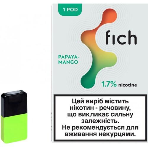 Картриджи Fich (Papaya Mango) 1.7%