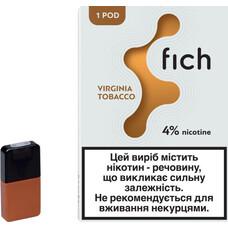 Картриджи Fich (Tobacco) 4% 1 Pod