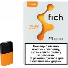 Картриджи Fich (Yellow Mango) 4%